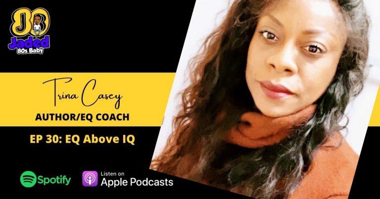 Jaded 80s Baby podcast - Trina Casey
