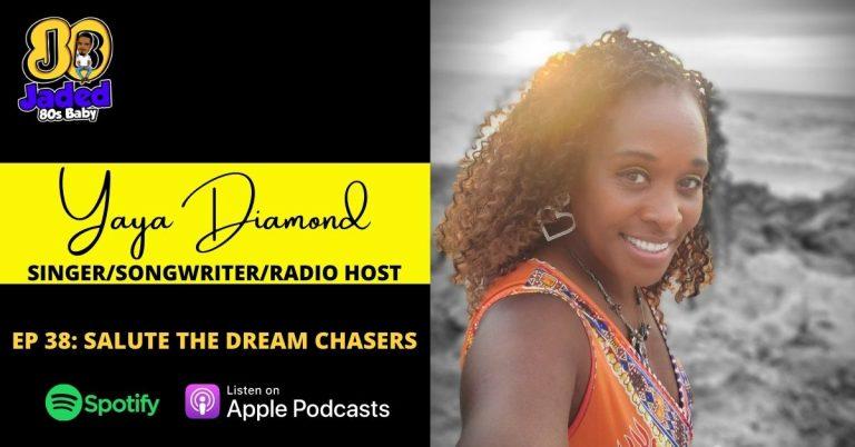 Jaded 80s Baby podcast - Yaya Diamond