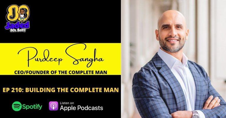 Jaded 80s Baby podcast - Purdeep Sangha